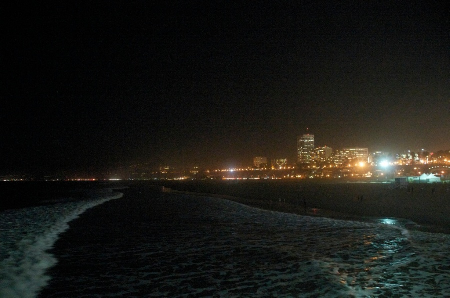 Santa Monica from the Pier...